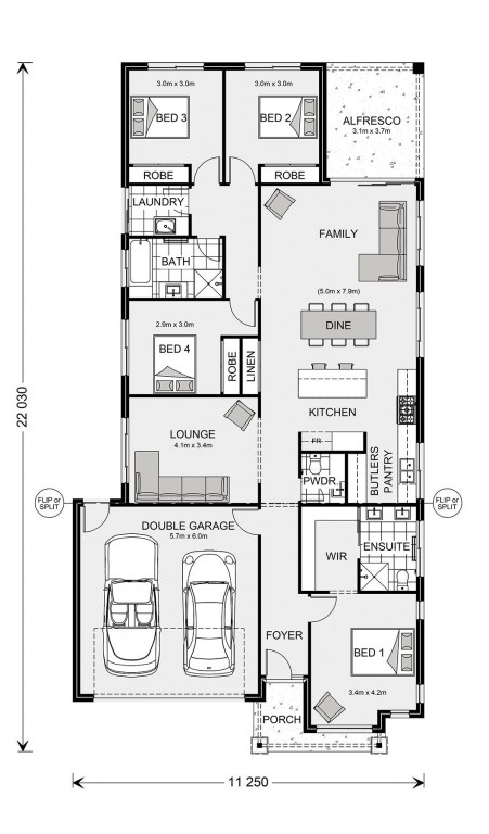 Fairhaven 215 Floorplan