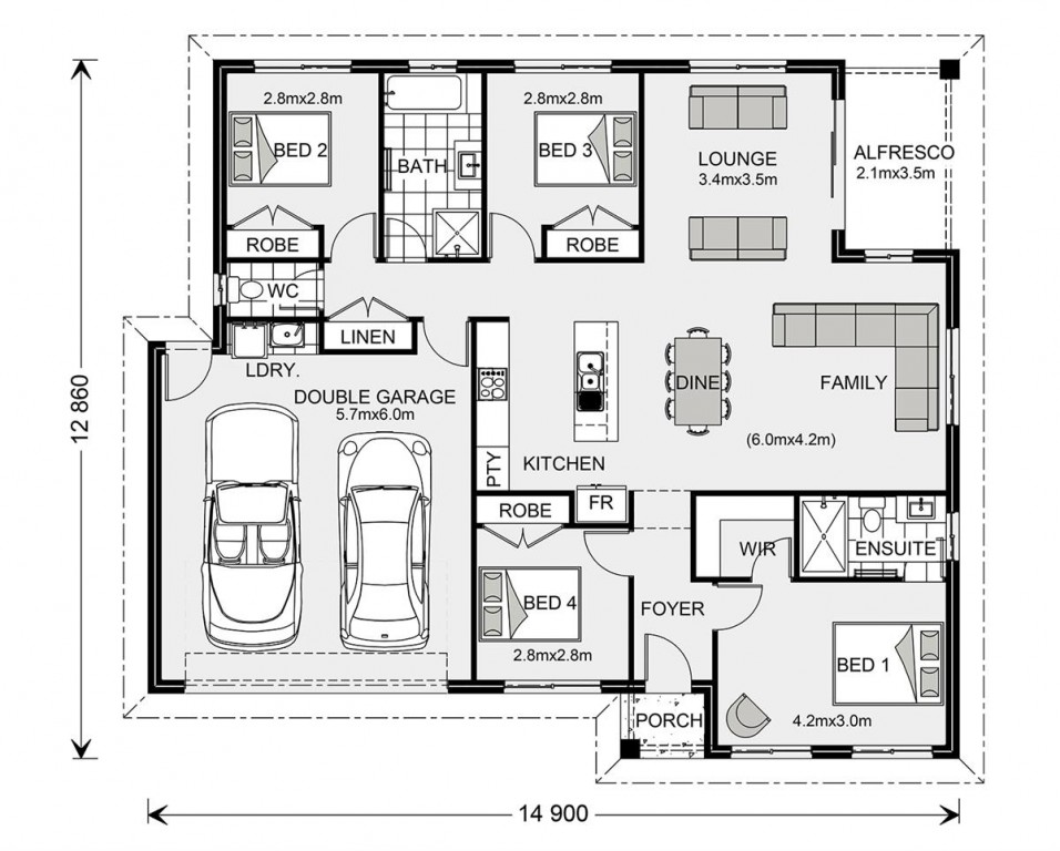Brighton 175 Floorplan