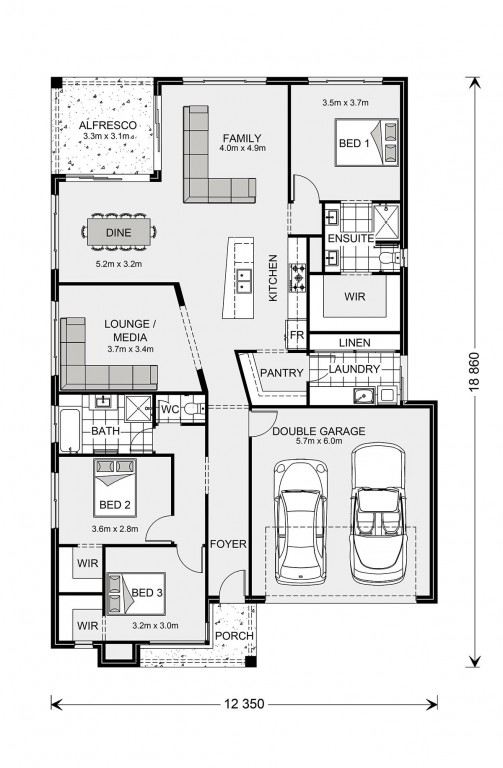 Beachlands 210 Floorplan