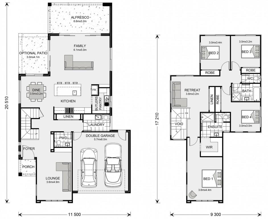 Avalon Bay 286 Floorplan