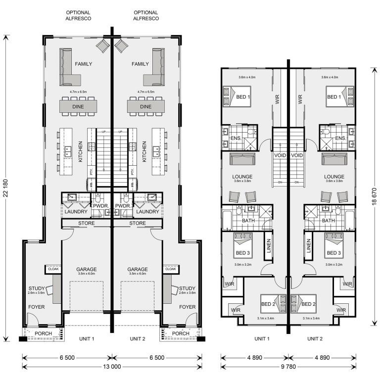 Yarraville 206 Floorplan