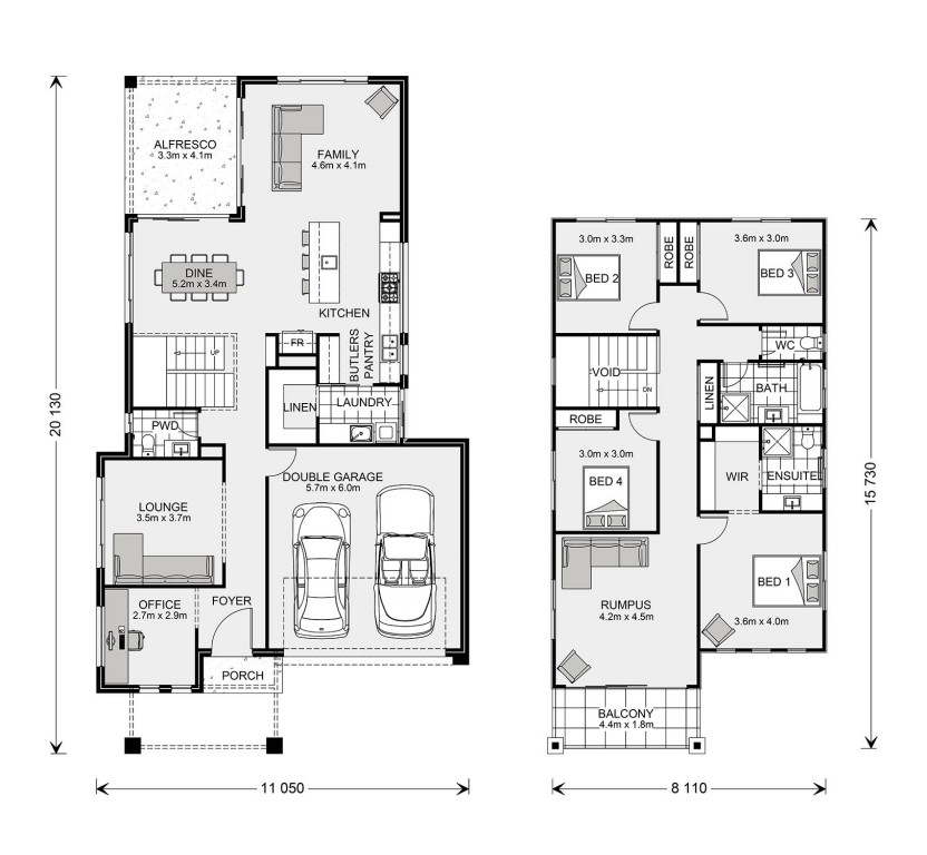 Seaview 285 Floorplan
