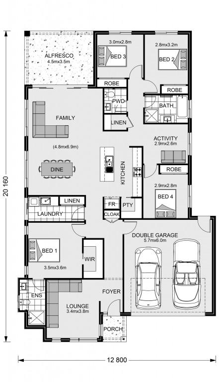 Claremont 221 Floorplan
