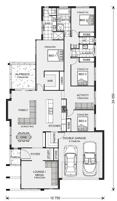 Oceanside 238 Floorplan