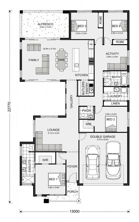 Beachmere 252 Floorplan