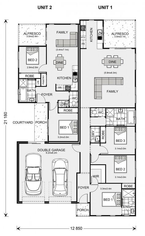 Cleveland 251 Floorplan