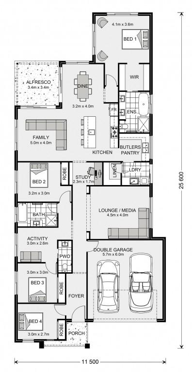 Edgewater 242 Floorplan