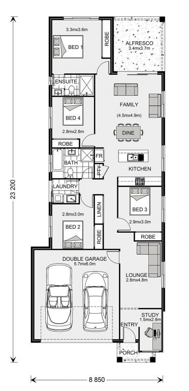 Newhaven 182 Floorplan