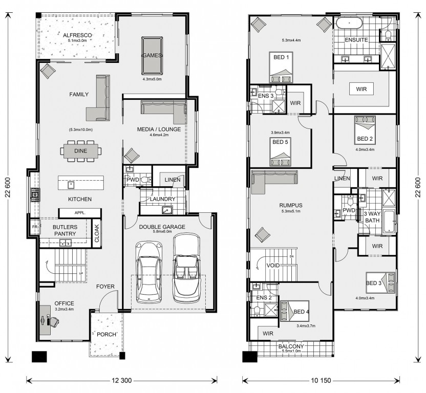 Coogee 427 Floorplan