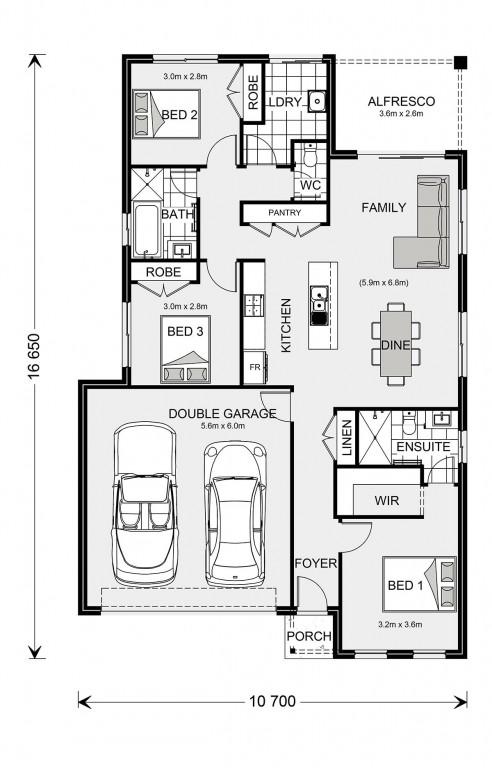 Nova 160 Floorplan