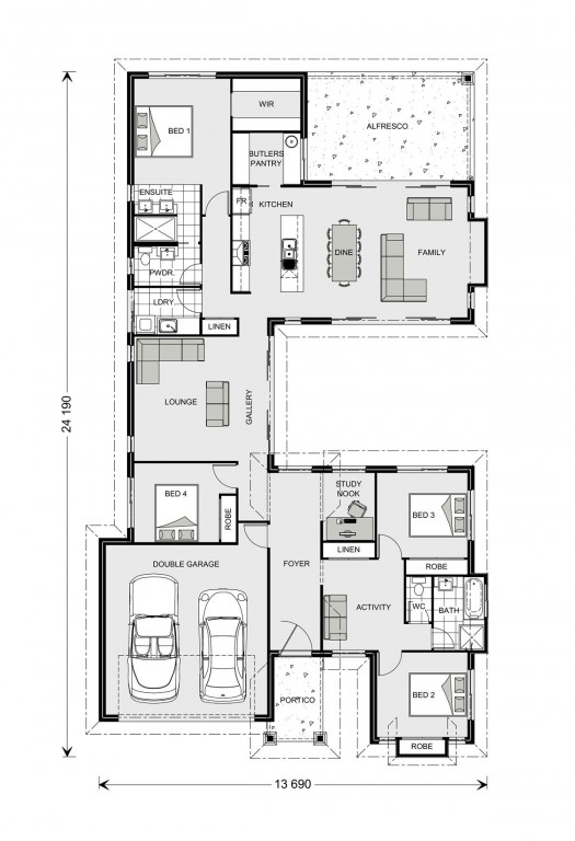 Mandalay 260 Floorplan
