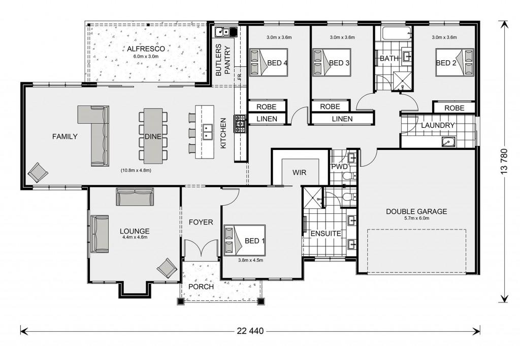 Oakdale Floorplan