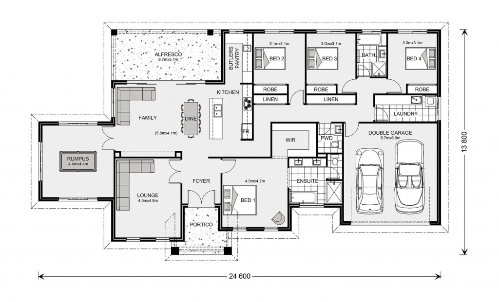 Oakdale 272 Floorplan