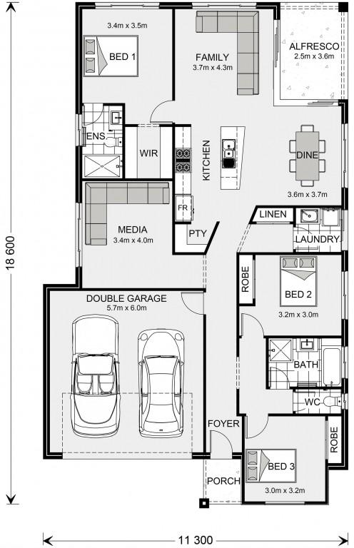 Beachlands 187 Floorplan