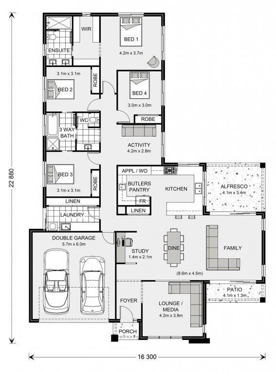 Parkview 266 Floorplan