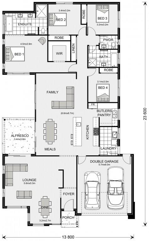 Northside 273 Floorplan