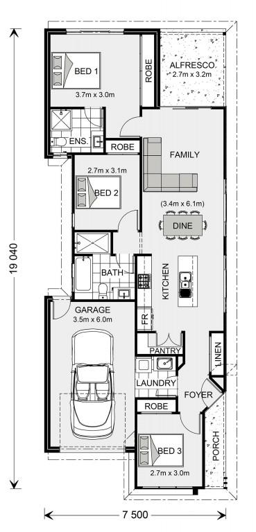 Robina 131 Floorplan