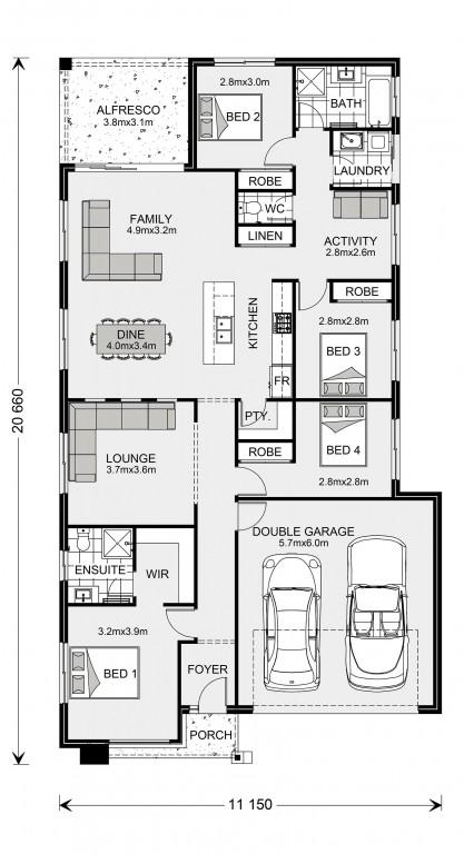 Bridgewater 205 Floorplan