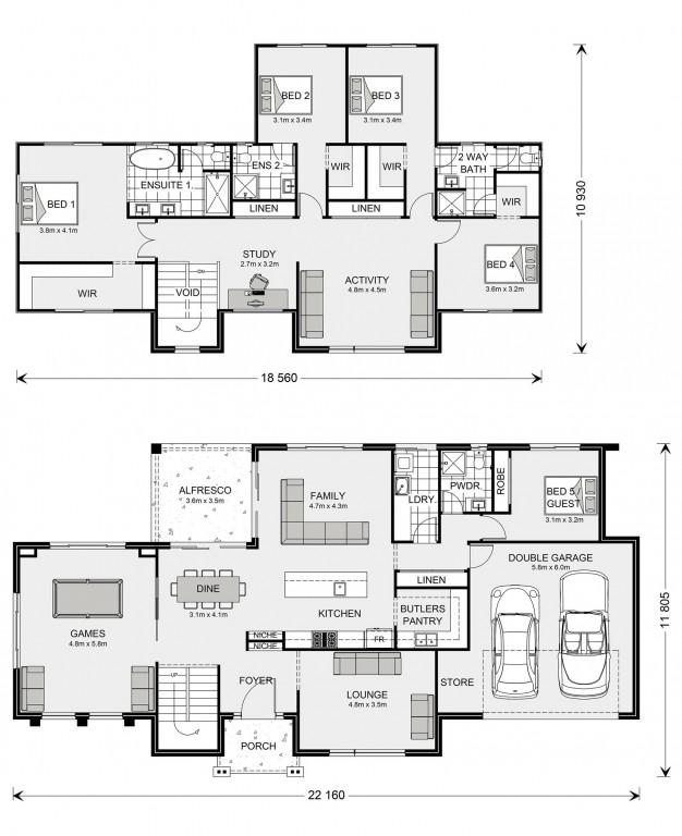 Greenbay 356 Floorplan