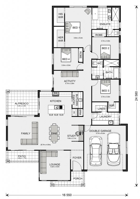 Parkview Floorplan