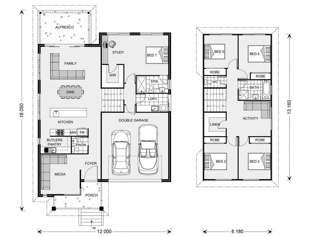 Regatta 264 Floorplan