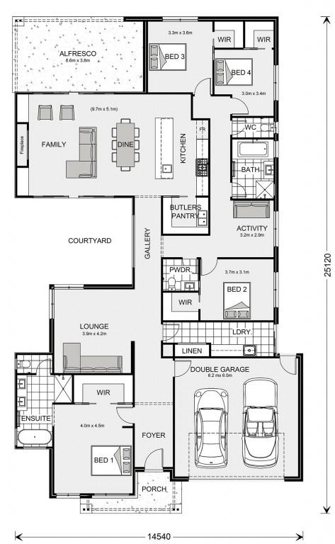 Beachmere 296 Floorplan