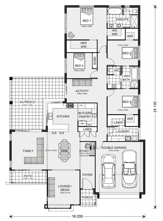 Parkview 302 Floorplan