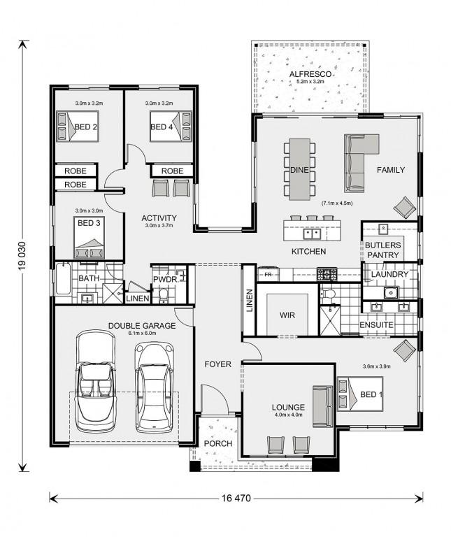 Karalee Park 260 Floorplan