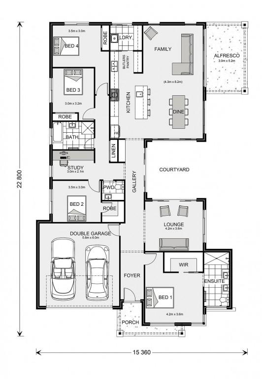 Samsara 260 Floorplan
