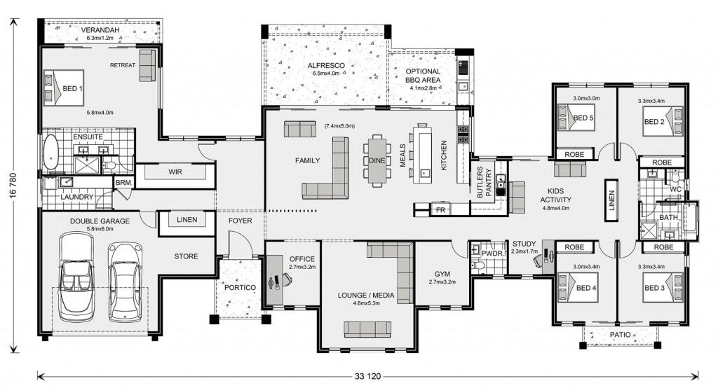 Rochedale 412 Floorplan