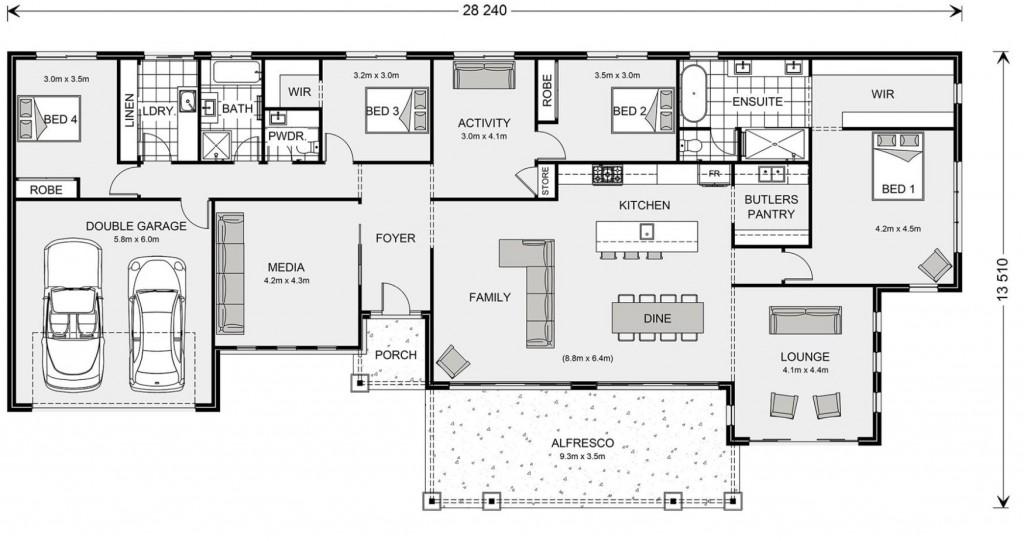 Palm Cove 315 Floorplan