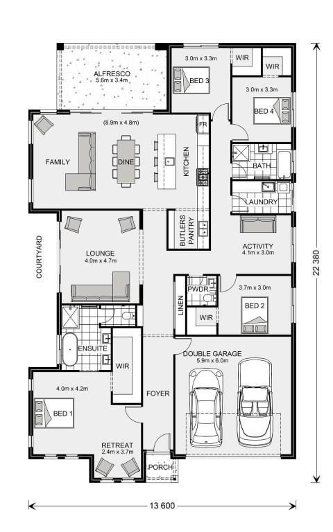 Long Bay 280 Floorplan