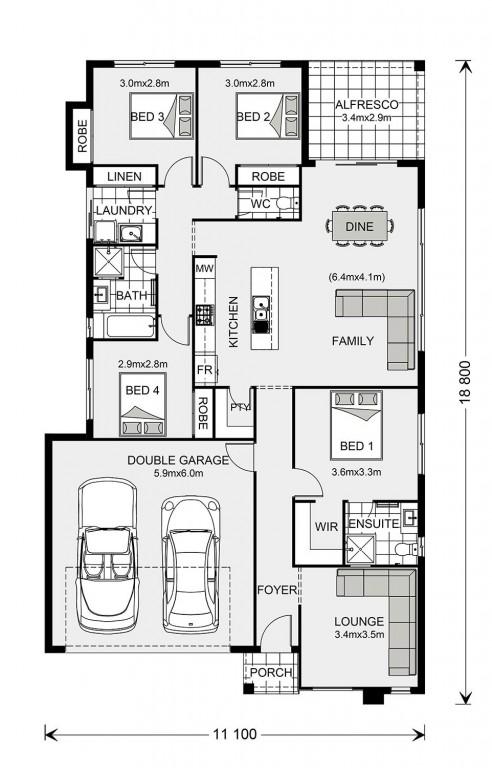 Brookfield 186 Floorplan