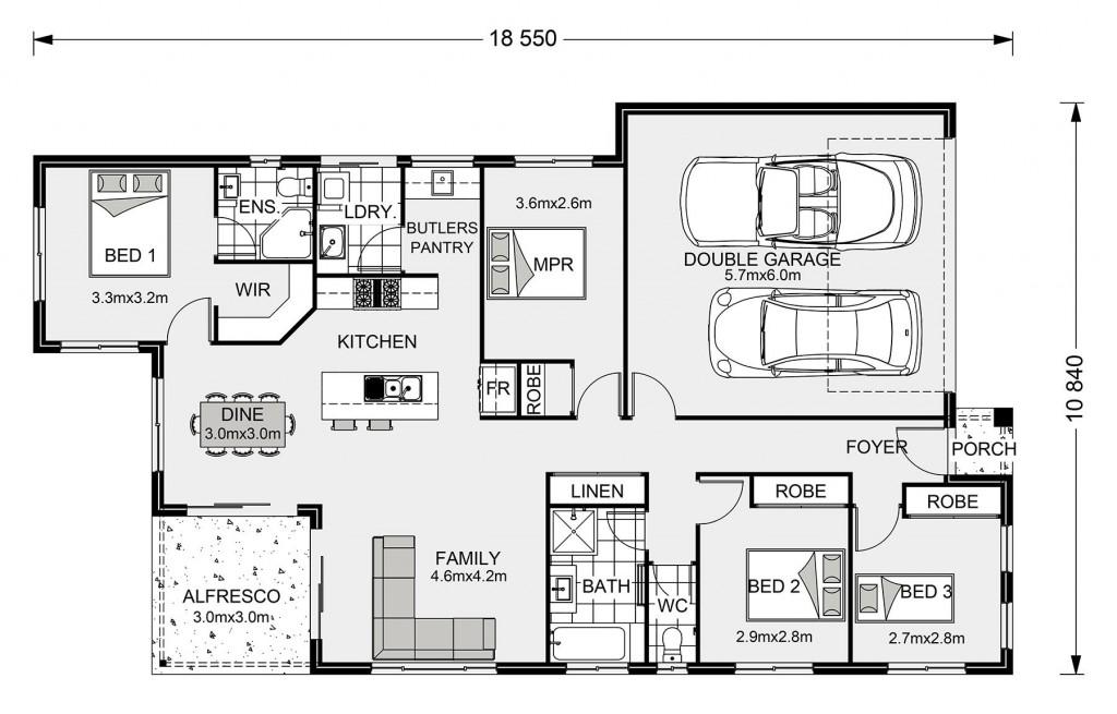 Edgewater 170 Floorplan