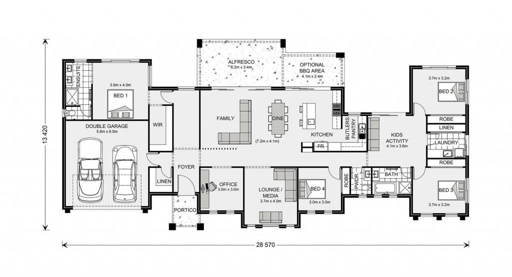Rochedale 294 Floorplan