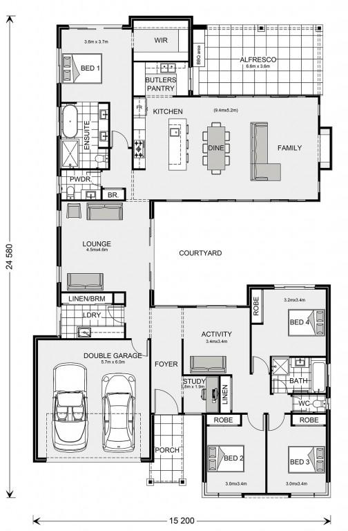 Mandalay 287 Floorplan