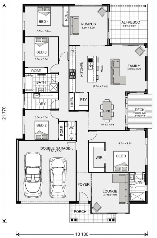 Sunbury 255 Floorplan
