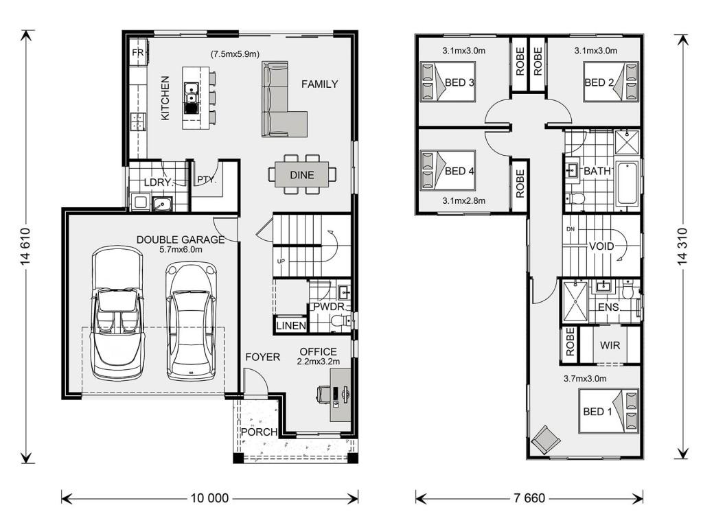 Sandringham 200 Floorplan