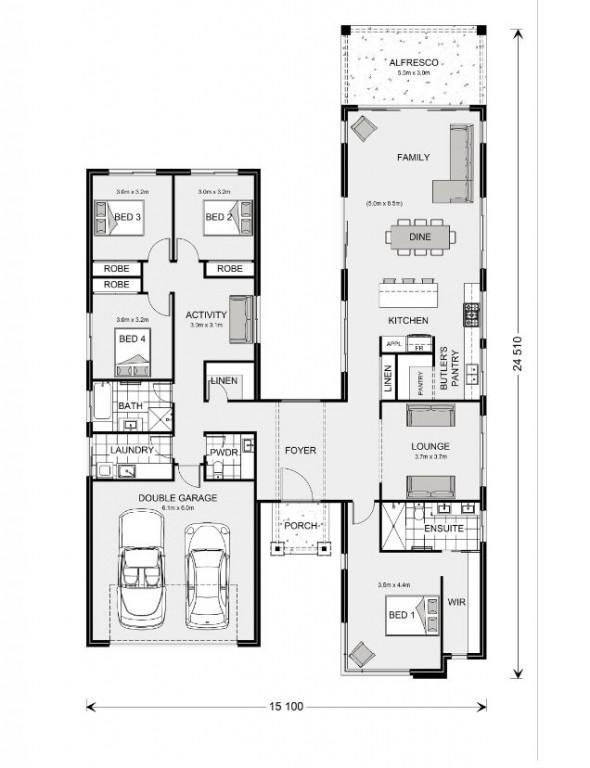 Oakford 268 Floorplan