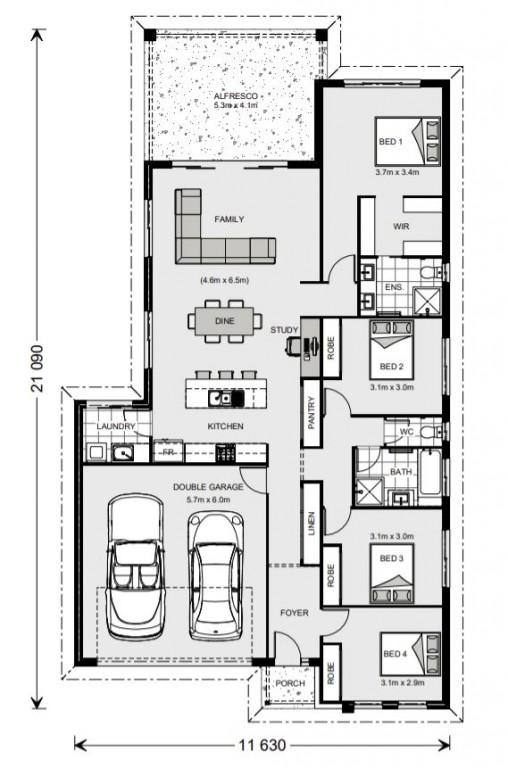 Melville 207 Floorplan