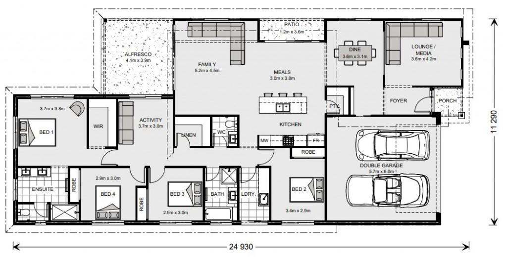 Oceanside 255 Floorplan