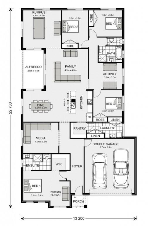 Springbrook 270 Floorplan