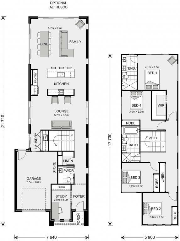 Kooyong 238 Floorplan