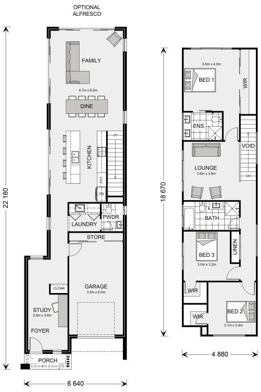 Yarraville 209 Floorplan