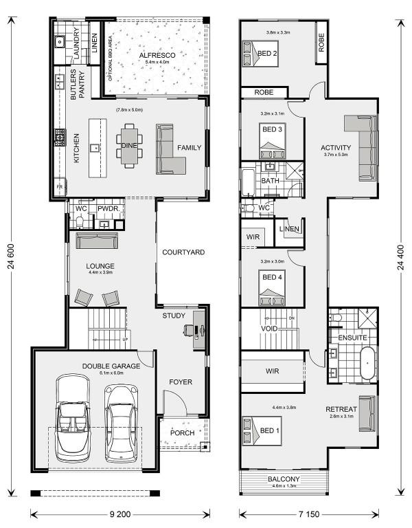 Nelson Bay 320 Floorplan