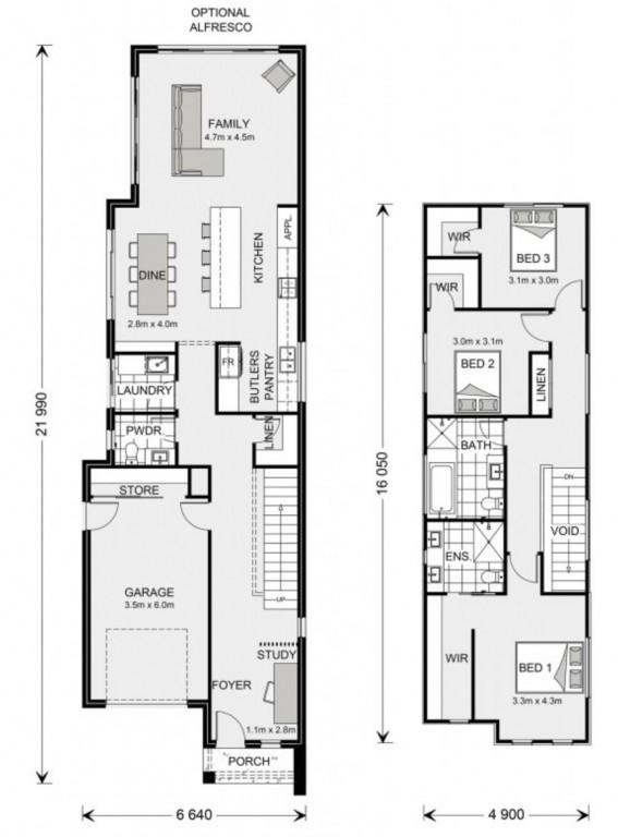 Essendon 203 Floorplan