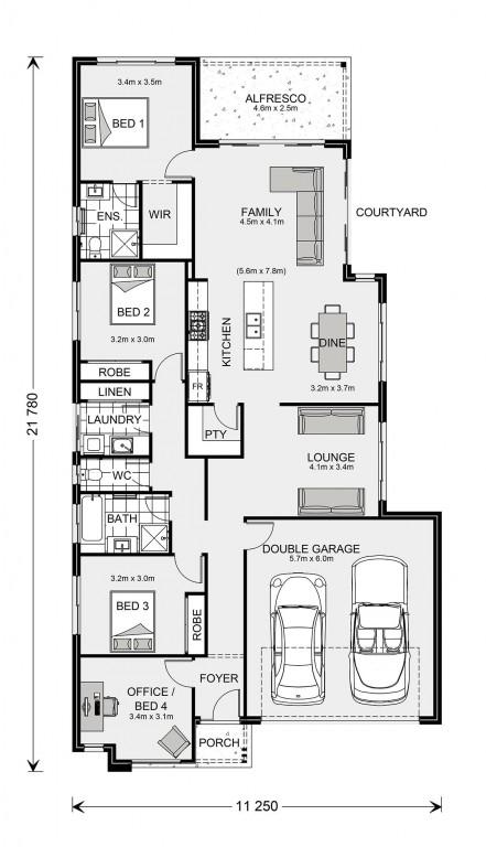 Kimberley 205 Floorplan