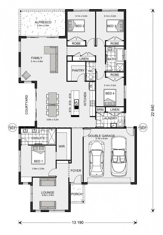 Blackwood 250 Floorplan