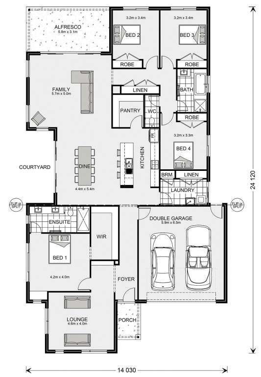 Blackwood 285 Floorplan