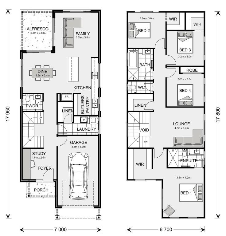 Rozelle 225 Floorplan